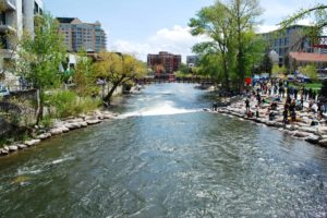Truckee River in Reno-min
